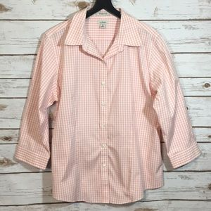 L. L. Bean Gingham Shirt